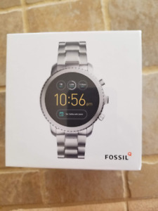 FOSSIL Q EXPLORIST ANDROID SMART WATCH STAINLESS STEEL FTW 4000