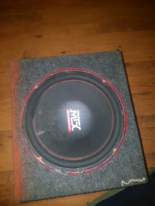 Mtx sub and amp