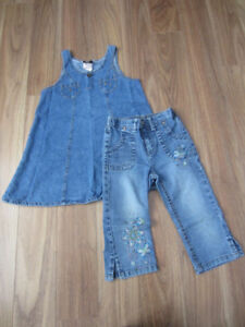 TODDLER GIRLS SUMMER CLOTHES - SIZE 5T - $5.00 for BOTH