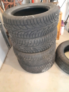 Tires sale.     REDUCED.   NOW $150.00 OBO
