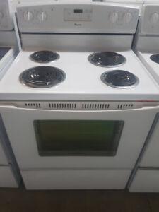 Stoves White - Coiled Element Stoves - Durham Appliances Ltd