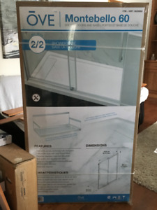 60 x 32 New Shower Base - never used