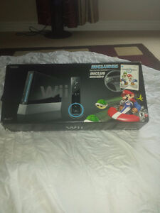 Like new  Special Mariokart Wii console free mario games & more