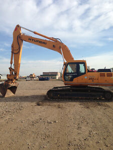 Hyundai 250 LC-3 Excavator for sale