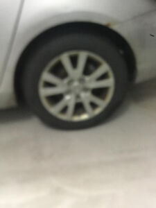 Set of 2 - Mazda 3 Tires - used for 30K Km