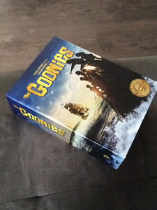 The goonies 25th anniversary collection sealed blue ray with gam