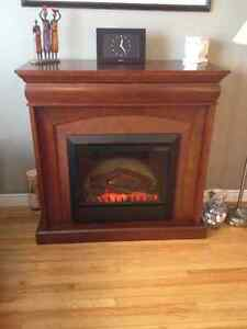 Electric Fireplace - Mint condition