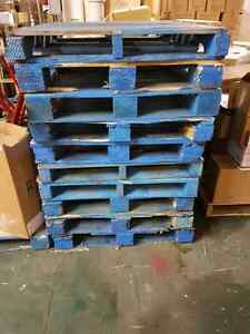 Blue pallets $15 dollars 10 or more $10
