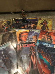WITCHBLADE COMIC BOOKS 11 issues and Nottingham