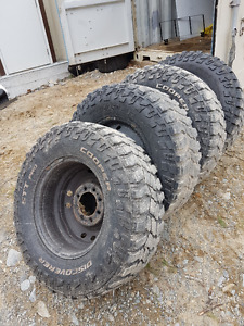 4 Used Tires, Rims NOT included