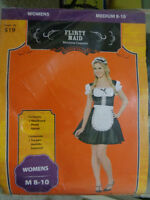 Large sized French Maid Halloween Costume $15.00 OBO