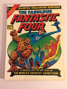 Fantastic four #2 marvel treasury edition