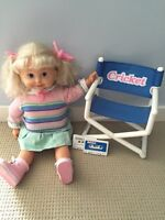 Cricket Doll & Accesories