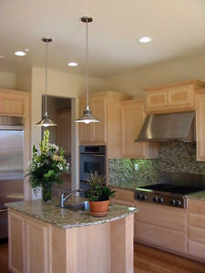 POT LIGHTS INSTALLATION $50 - licensed electrician Cambridge Kitchener Area image 5