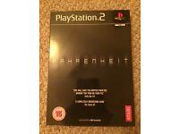 PS2 Fahrenheit