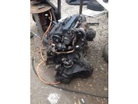 FORD TRANSIT MK6 ENGINE AND GEARBOX