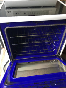30 inch LG Self cleaning oven True convection