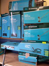 Many types Lawnmowers. Grass Strimmers. Hedge Trimmers. RBW Clearance