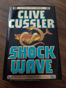 Shock Wave  By Clive Cussler  Hard Cover 1996