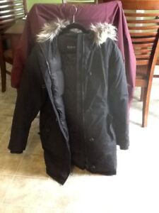Ecko Red Winter Duffle Coat size large