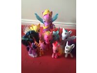 My little pony posable figures