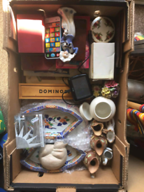 Boxes job lot carboot garage clearance carboot sale house clearance