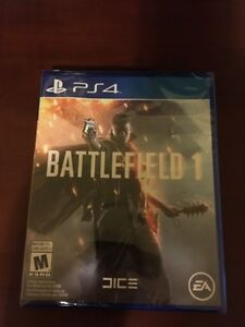 Battlefield 1 for PS4 Unopened
