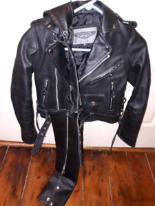 Child's Leather Jacket & Chaps