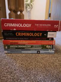 Criminology/Sociology/social policy/university textbooks