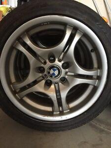 BMW M3 rims & tires 225/45 ZR 17