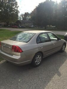 2002 HONDA CIVIC 4 DOOR