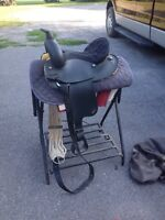 13 Wintec saddle with stand