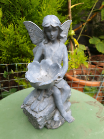 Stone Statue Mythical Outdoor Decoration Gardn Ornament READ DES
