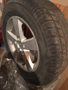 Winter Tires 215 65 16 Toyo Honda 4 pcs. With mag rim $480