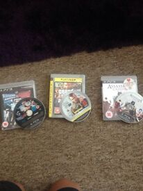 selling 3games for ps3