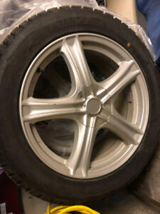 BLIZZAK Winter Tire And Rims 245 / 50R18 100T