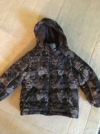 Boys fleece lined Jacket