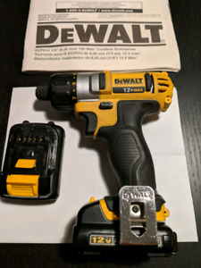 Visseuse DeWalt screwdriver 12V