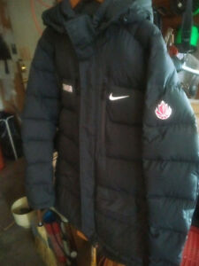 Team Canada basketball winter jacket