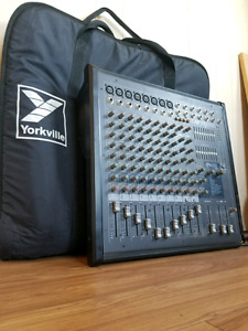 900 watt powered Yorkville mixer board. Will take trades or cash