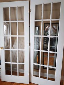 Great condition French doors