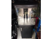Kent Marine 94L Aquarium Fish Tank with Stand and inbuilt filter and heater