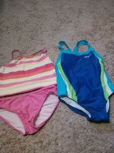 Girls size 6 bathing suit lot