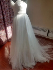 New bridal gown