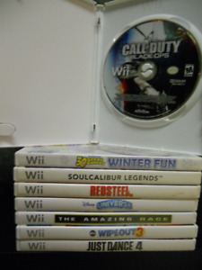 Nintendo Wii Collection, See pictures and description