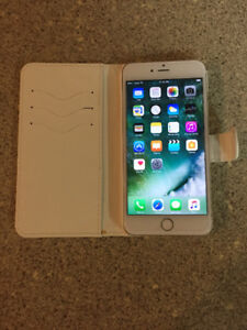 Gold and White 16gb iPhone 6 Plus