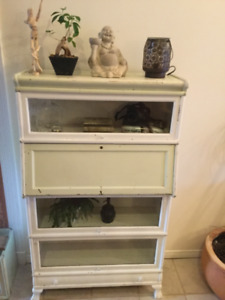 Macey's Barrister Clawfoot Bookcase Antique