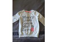 One direction children's sweatshirt