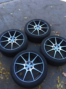 NISSAN INFINITI 20 INCH RIMS AND TIRES