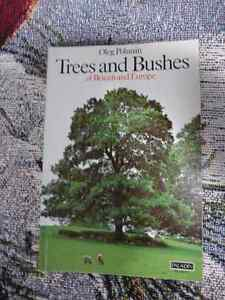 Trees and Bushes of Britain and Europe Paperback – 1977